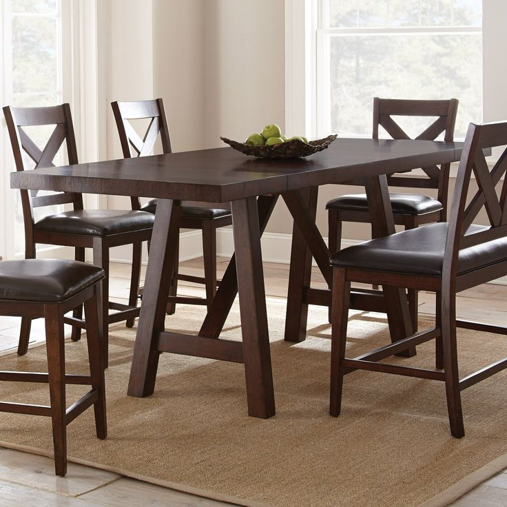 steve silver clapton counter height dining table from