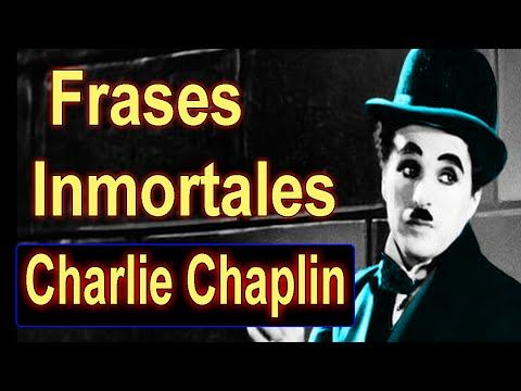 10 Frases inmortales de charlie chaplin