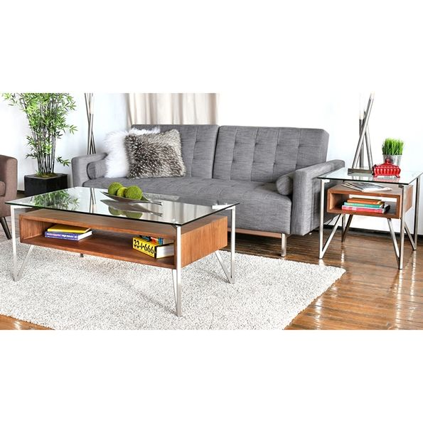 Garrett Contemporary Gray Sleeper Sofa | Modern Living Room | Tufted Fabric  | Eurway
