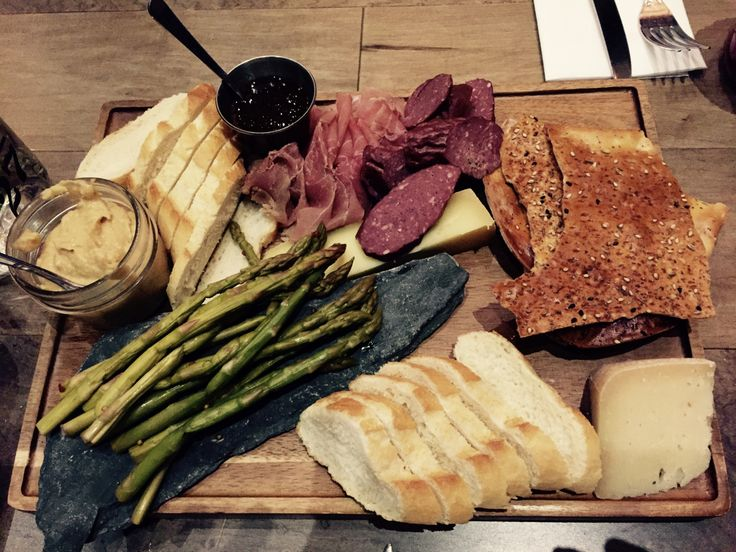 Review of Ampersand 27 in Edmonton, Alberta. Charcuterie for the win!