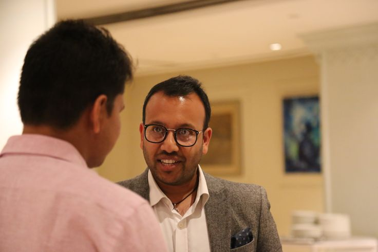 Mr Ameet Shah Director of Client Services UK & I from TMA  #CmoRoundTable #teradata