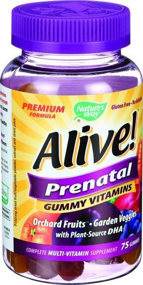 Nature's Way Alive Multi Vitamin - Prenatal - Gummy - 75 Count