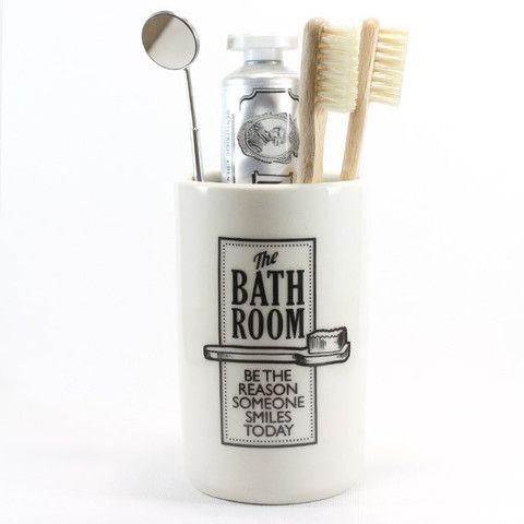 Ceramic Pot - Bathroom | Raw Ceramics
