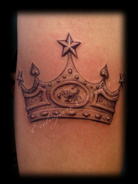 crown tatoos | ... - Kral Tacı Dövmesi / King Crown Tattoo | Flickr - Photo Sharing