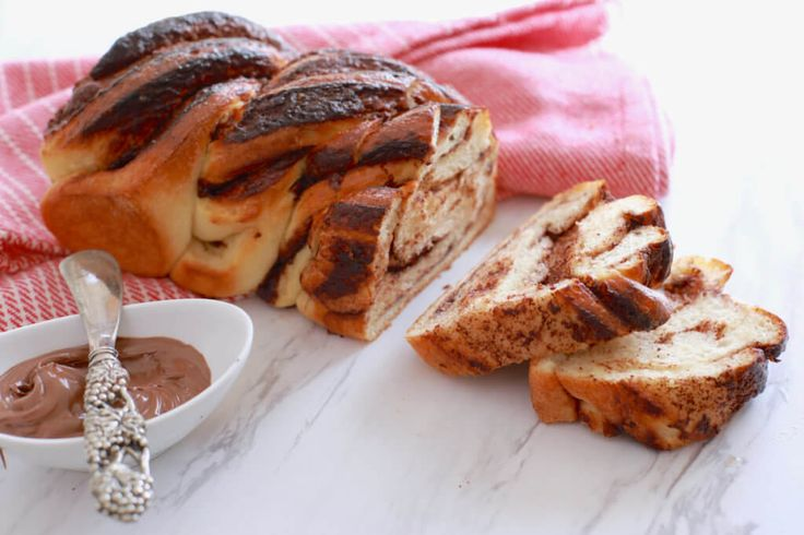 Crazy Dough Nutella Braided Loaf - 1 dough that can make a variety of breads from Pretzels to this Nutella Loaf.