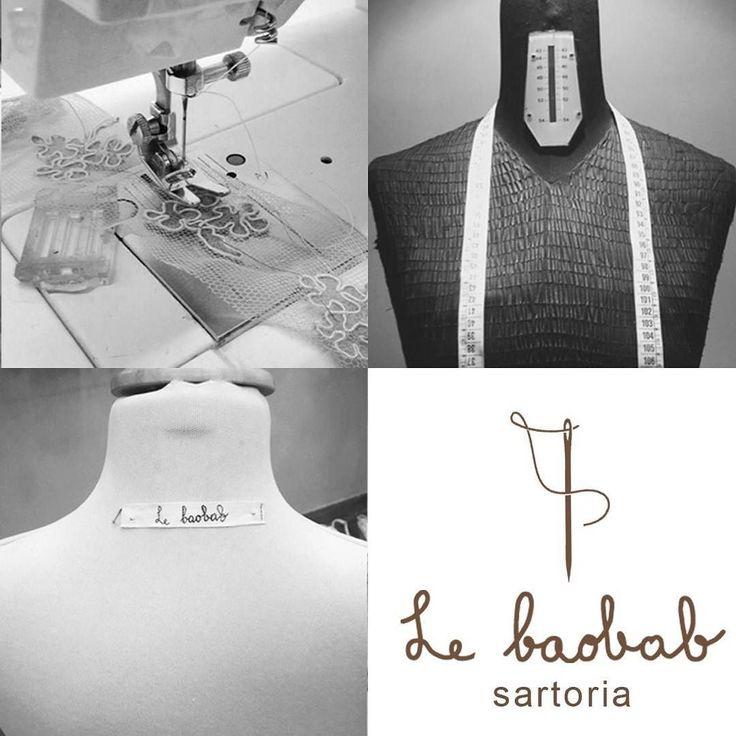 Le mani sapienti delle nostre esperte sarte sapranno personalizzare qualsiasi modello voi scegliate tra i nostri abiti in atelier oppure su richiesta realizzeranno un capo ex novo su misura #sartoria #sarte #atelier #moda #fashion #sumisura #abito #capo #lebaobab #sposa #cerimonia