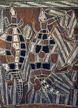 arte australiano de los aborigenes. Australian aborigin art.