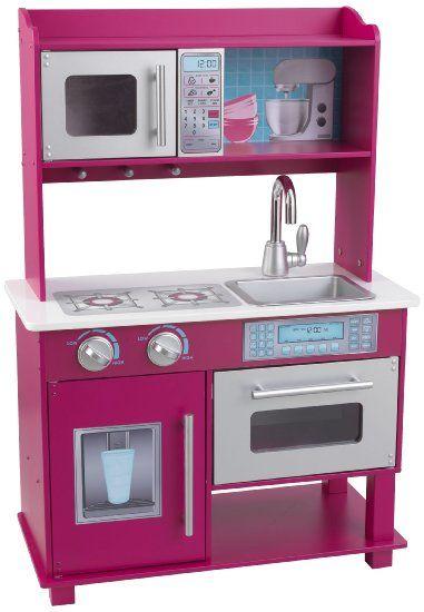 Kidkraft Gracie Toddler Kitchen - £104, nice but pink W64.5,