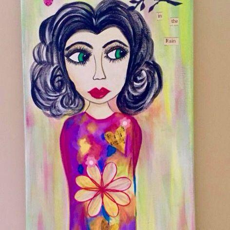 Elizabeth  Acrylic on canvas