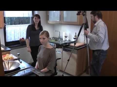 Fresh  Making of des Videos der barrierfreien K che aus dem Massivholz der Hersbrucker Alb Die