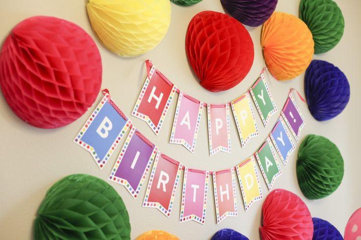 bubble gum party decor