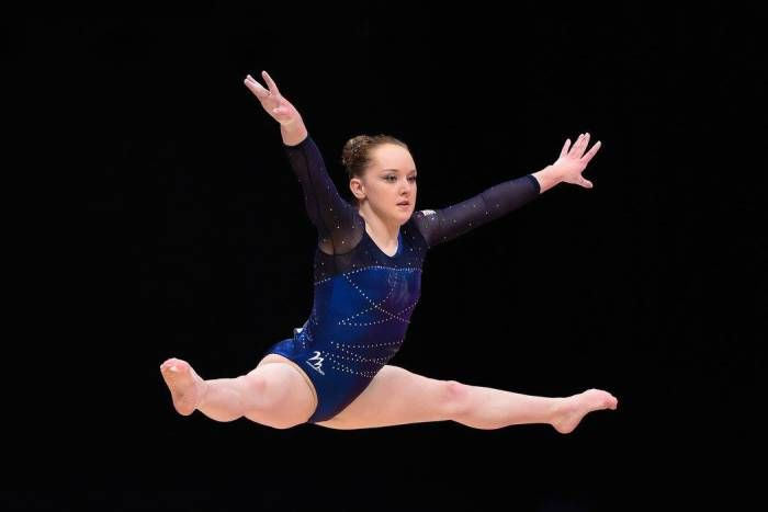 Amy Tinkler – South Durham. Coaches Nicola Preston, Rachael Wright