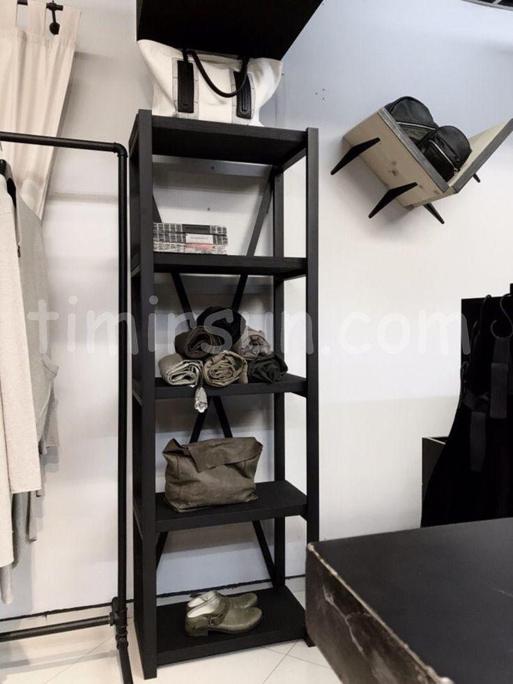 "Стеллаж Х лофт для магазина одежды от мастерской ""Тимирсан"" Stillage loft"