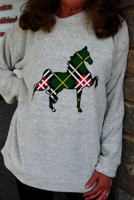 Woolly Threads Sweatshirt | The American Saddlebred Museum