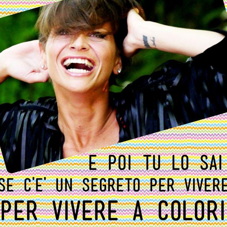 Alessandra Amoroso Vivere a colori testo #VIVEREACOLORI #musica