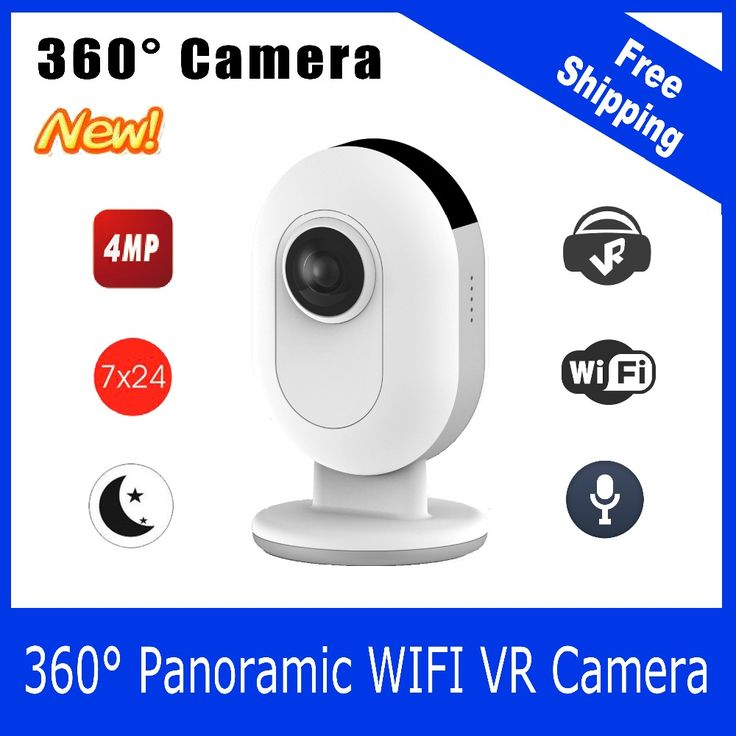 IP Camera 360 with Panoramic 360 Degree Wide Dual Fish Eye Lens 4MP VR Video for andriod and iOS mobile home security * AliExpress Affiliate's buyable pin. Click the VISIT button for detailed description on www.aliexpress.com
