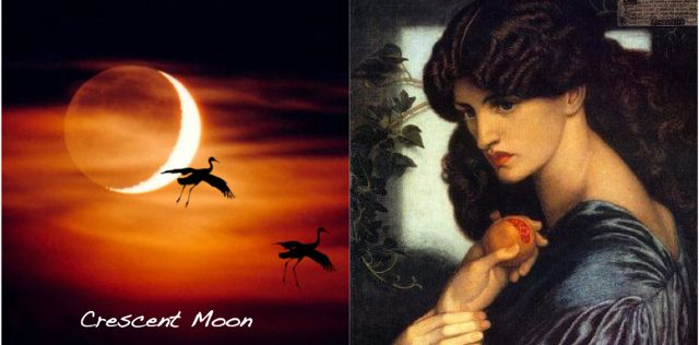 The Moon Cycle and the Menstrual Cycle: The Crescent Moon