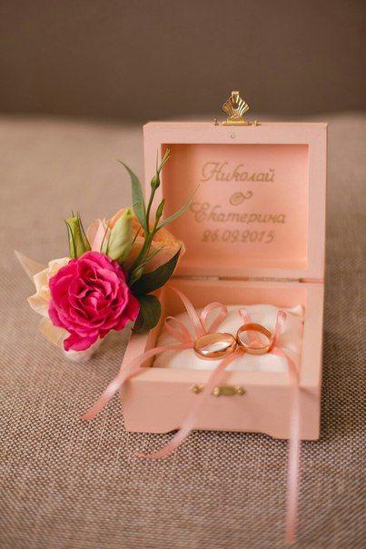 Свадебные шкатулки для колец ∙ Onehappymoment
