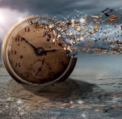 You may be powerful today, but time is still more powerful than you.
