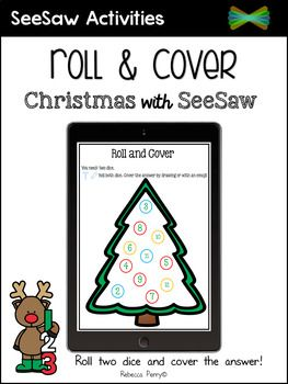 Christmas with SeeSaw! Are you using SeeSaw Activities in your classroom? Try this fun, engaging activity linked to the holiday season! Keep your learning meaningful by allowing students to practice their addition by rolling two dice and either