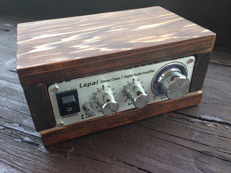 Lepaiのアンプ用木製キャビネットです。