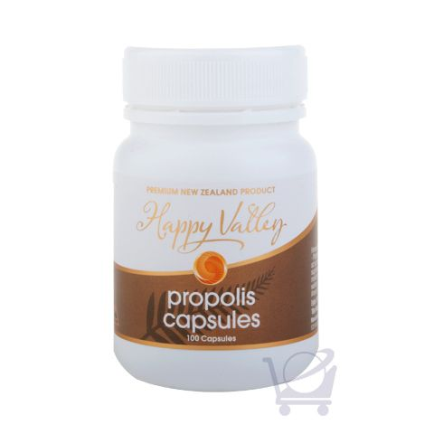 NZ Propolis Capsules – Happy Valley 100 caps | Shop New Zealand