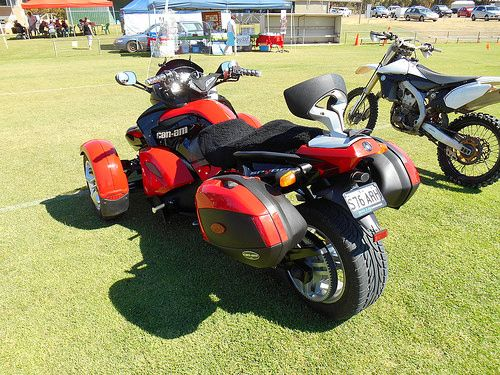 42 best bikes images on pinterest cars motorcycles nice cars and this is a 2013 can am spyder bike that was on display at the car fandeluxe Images