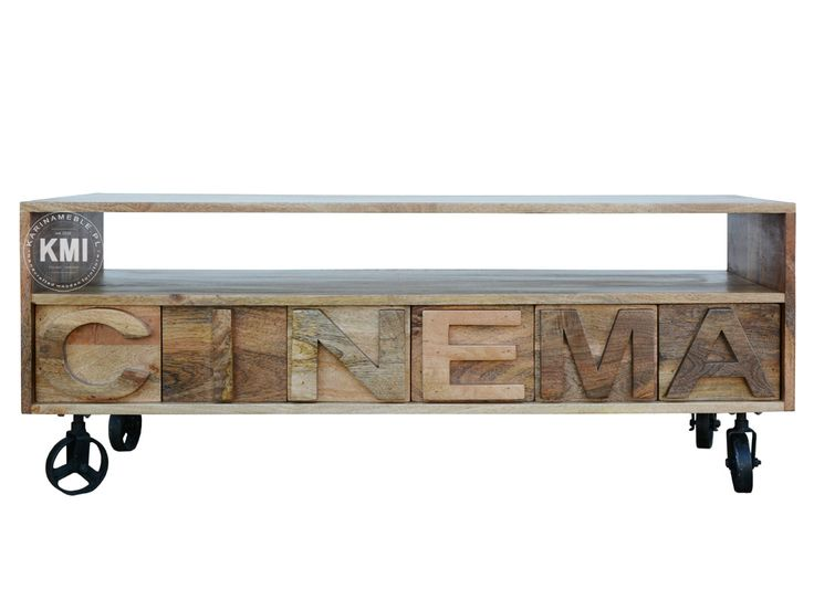 meble indyjskie | szafka rtv cinema natural 146294