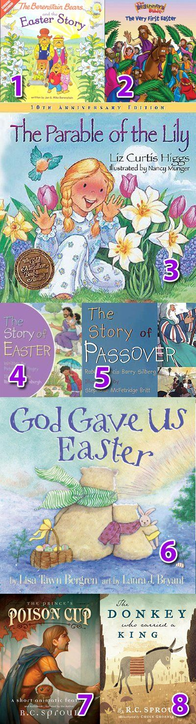 Christian Easter books for kids {Hive Resources}