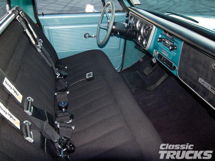 C10 Truck Interior Classic Chevy C10 Trucks Pinterest