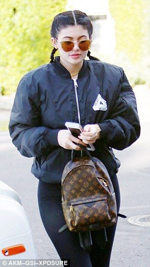 Cheeky! Kylie Jenner, 18, revealed more than she bargained for as she put on a cheeky display while running errands in West Hollywood on Thursday
