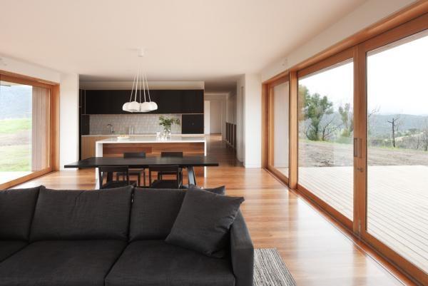 beautiful open plan living by Doherty Lynch
