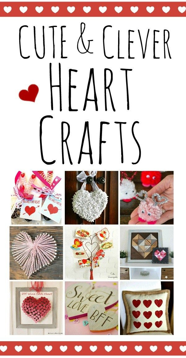 All Things Hearts With The Diy Housewives Redhead Can Decorate Valentine Crafts Valentine Crafts For Kids Valentine Day Crafts