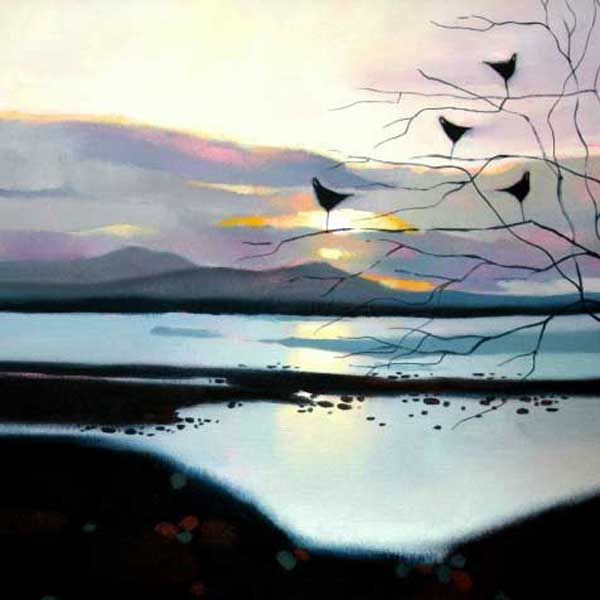 The quiet of evening by Sharon McDaid - PRINT