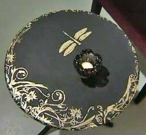 Декорирование стола своими руками