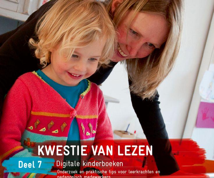 Kwestie van Lezen. Deel 7, Digitale kinderboeken.