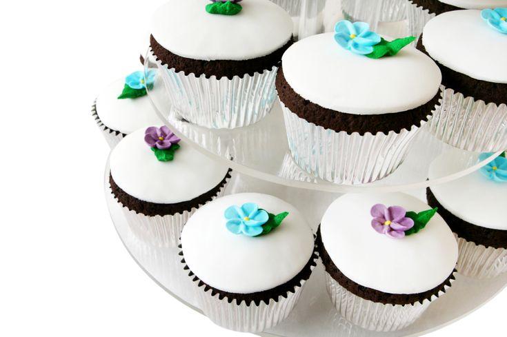 Chocolate And royal Icing Cupcake