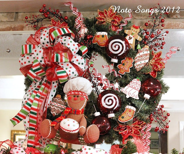 Note Songs: Homemade Wreath