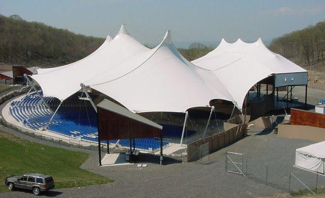 Tenda membrane untuk acara besar