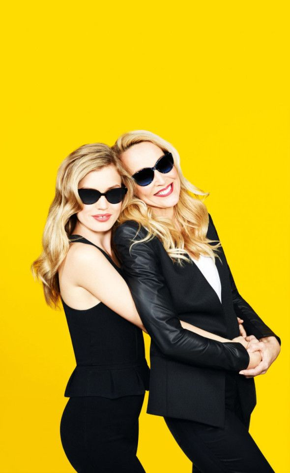 Georgia May Jagger & Jerry Hall for Sunglass Hut Mother Day 2013 Campaign