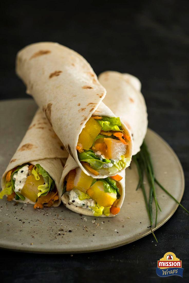 #missionwraps #wraps #food #inspiration #meal #salad #fish #cucumber #cheese www.missionwraps.es