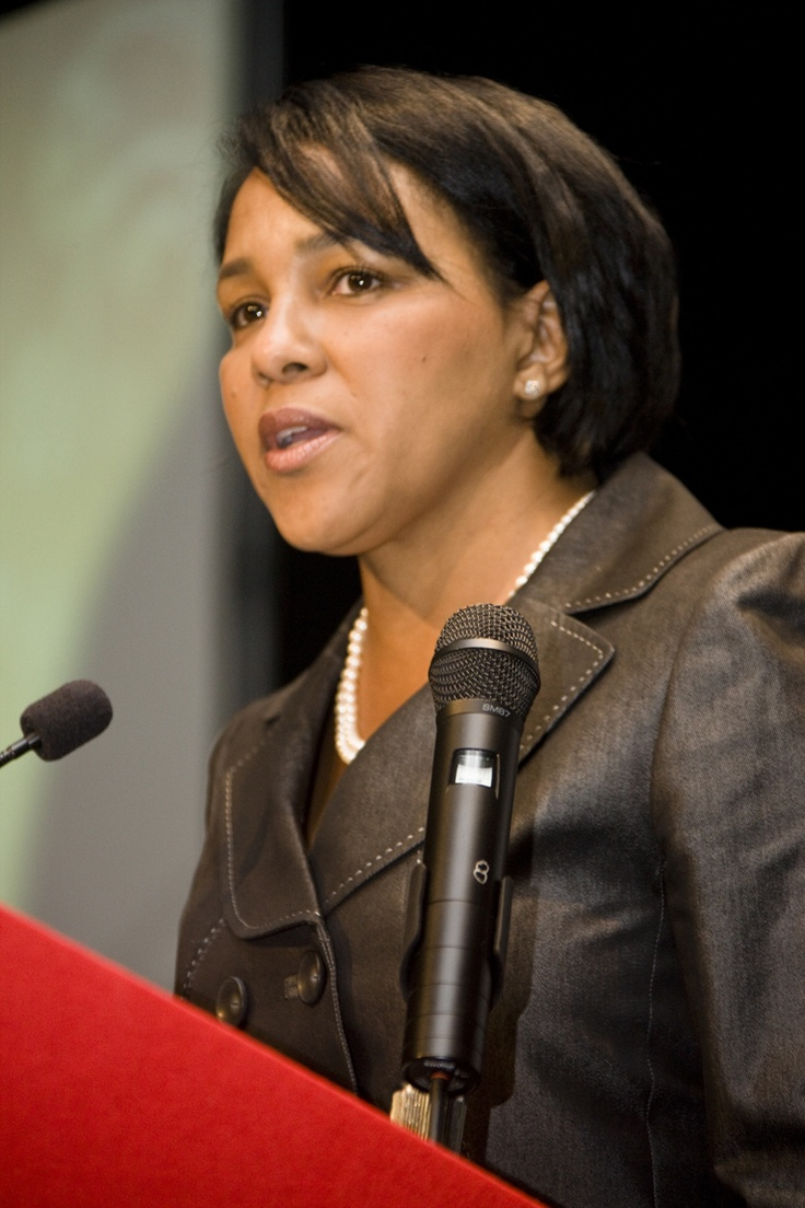 Rosalind G. Brewer was made the CEO and President of Sam's Club in early 2012, making her both the first woman and the first African American to be made a chief officer in the company. Her rise through the ranks is also notable — she started with the company just a few years earlier in 2006 as a company scientist and rose through the executive ranks. Pretty awesome.