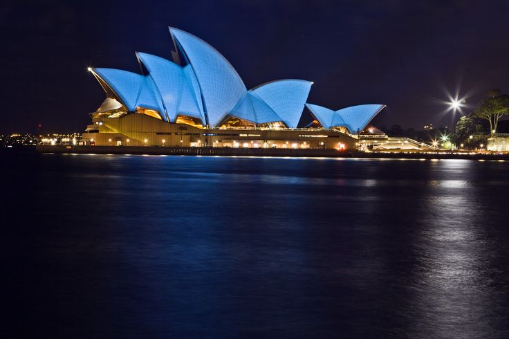 Sydney Opera House, Australia.  Photograph: Xinhua /Landov / Barcroft Media