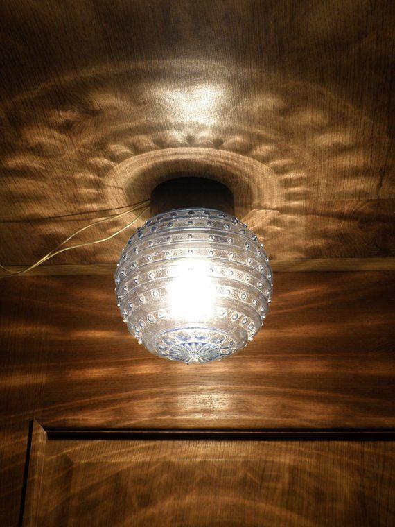 <b>Vintage industrial</b> lamp E 27. Blue lamp. Old Soviet <b>vintage</b> ...