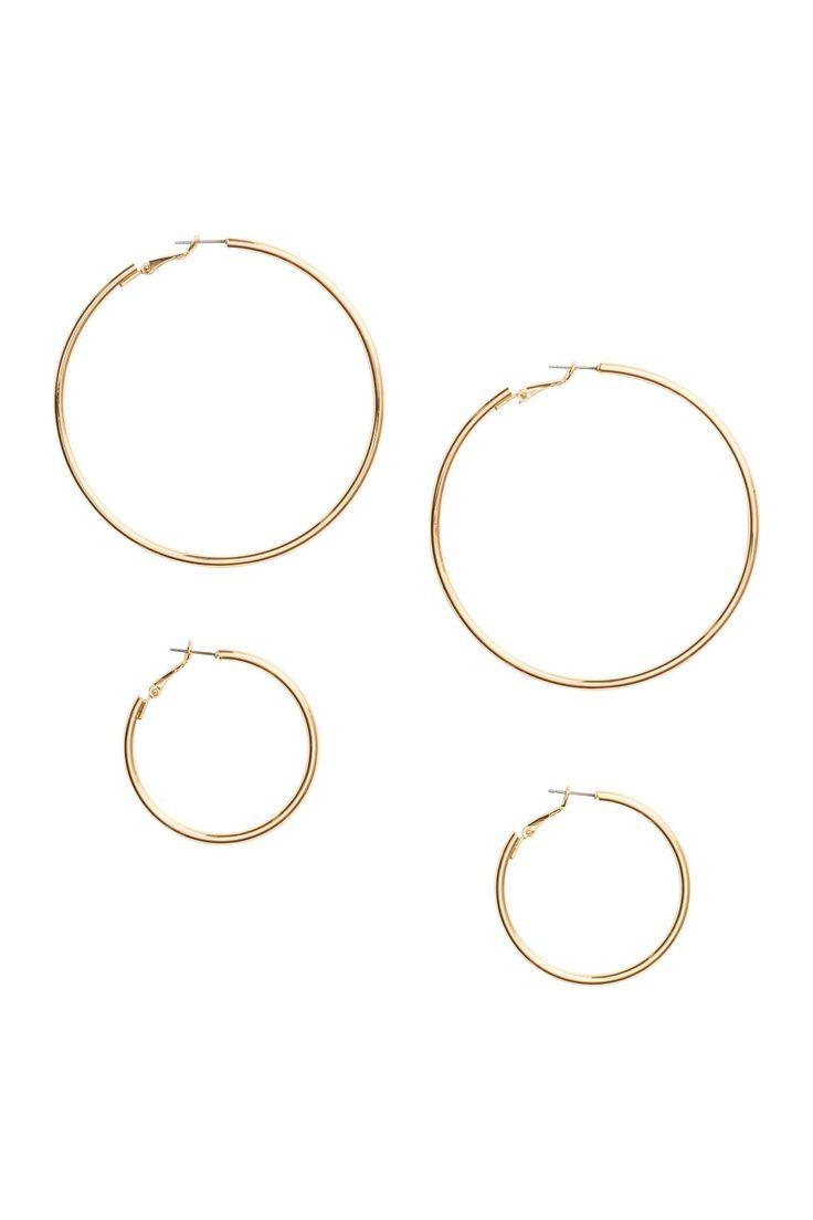 2 paria korvarenkaita - Kulta - Ladies | H&M FI