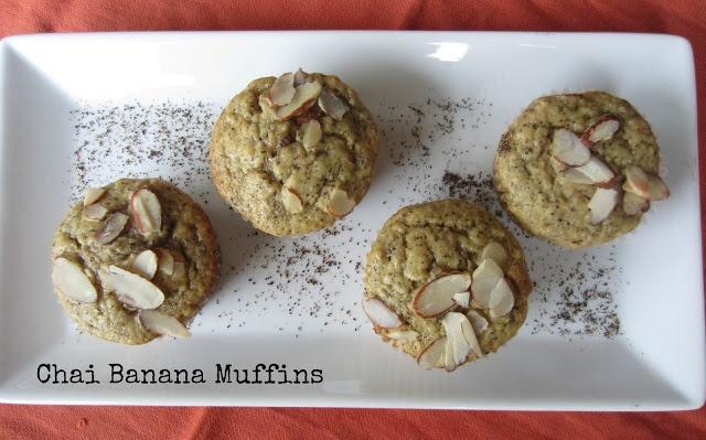 Chai muffins | Fill the freezer recipes | Pinterest