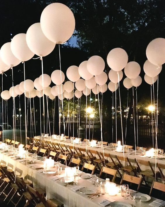 Balloon Decorations For Wedding Reception Ideas: 28 Pretty And Modern Balloon Decor Inspirations For Your