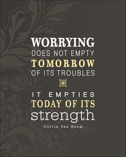 Don't worry, be :)