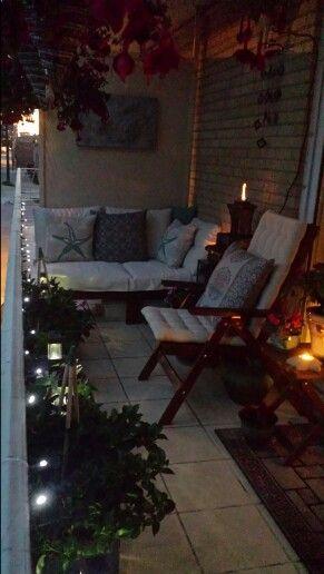 Evening in my balcony garden