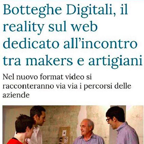 Fare Impresa Futuro su La Stampa del 12/10/2015 #FareImpresaFuturo #BottegheDigitali